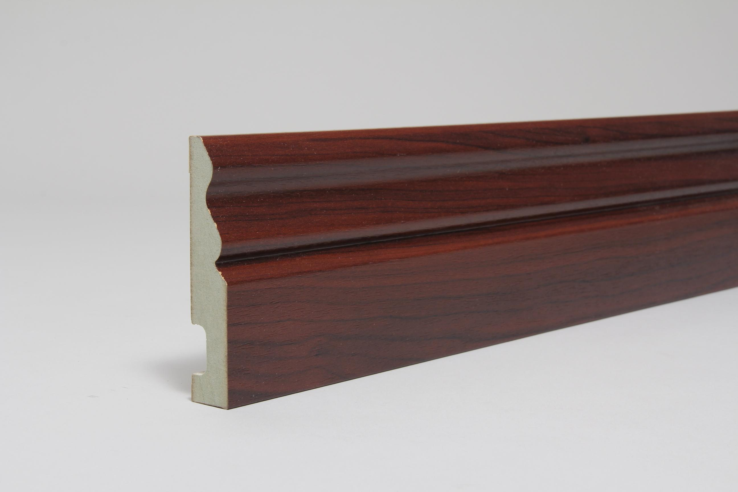 Ogee 18mm x 94mm x 4.4 Mtr Rosewood Fully Finished Foil Wrapped (Special Offer)