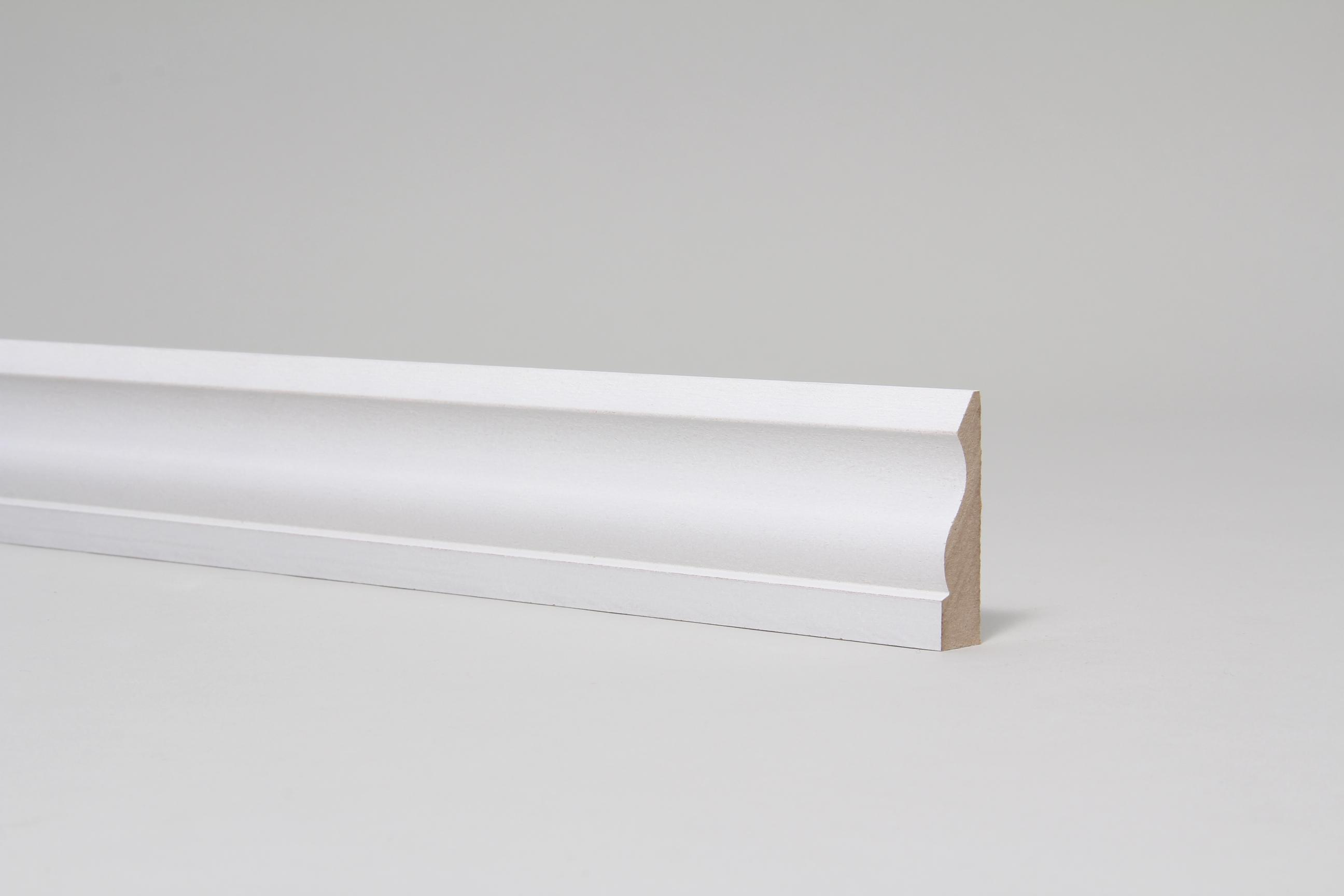 Ogee 15mm x 57mm x 4.4 Mtr Primed