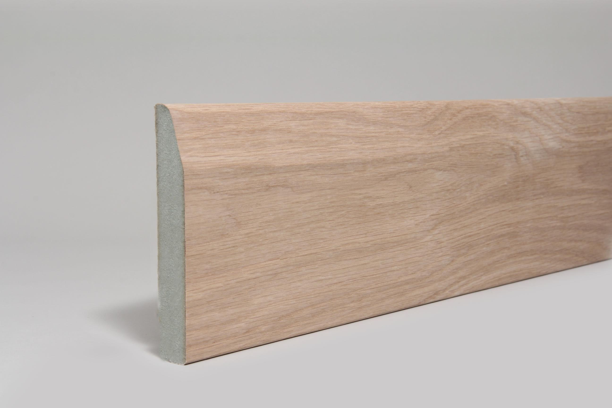 Chamfered & Rounded  18mm x 119mm x 4.4 Mtr Veneered American White Oak