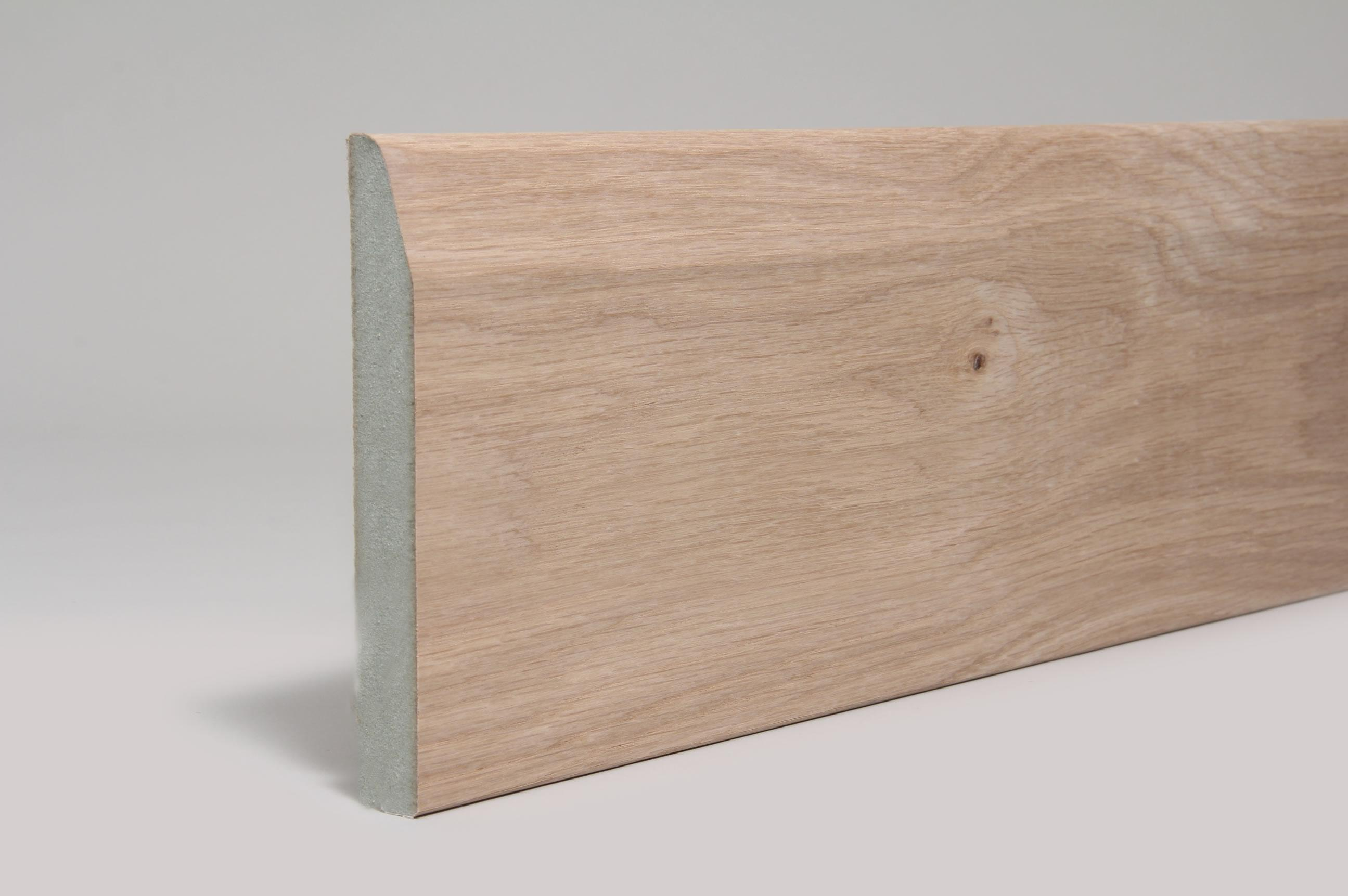 Chamfered & Rounded  18mm x 144mm x 4.4 Mtr Veneered American White Oak