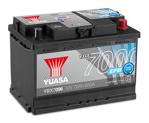 YBX7000 EFB Batteries