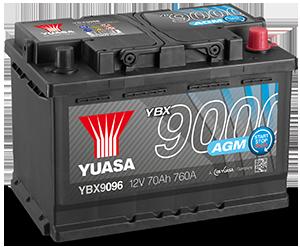 YBX9000 AGM Batterien