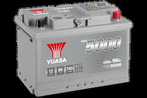 YBX5000 Silver Hochleistungs-SMF-Batterien
