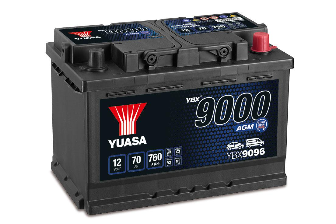 Baterías AGM YBX9000