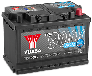 Batteries AGM YBX9000