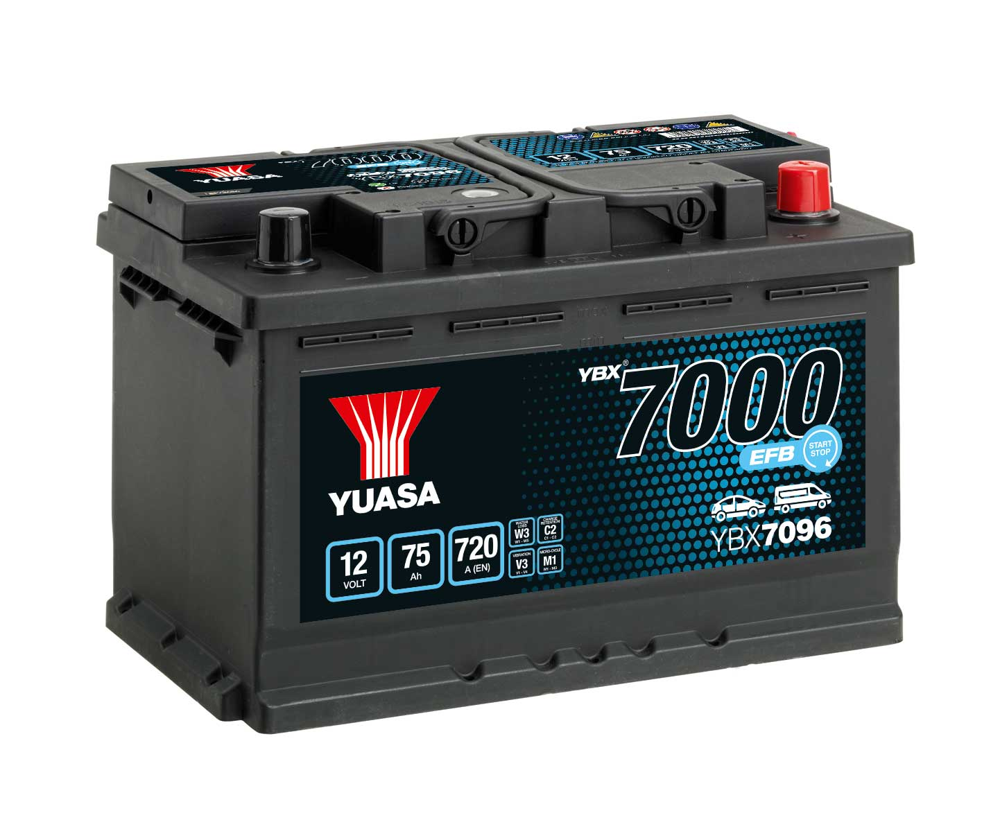 Batteries EFB YBXYBX7000