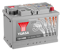 Batteries SMF argent haute performance YBX5000