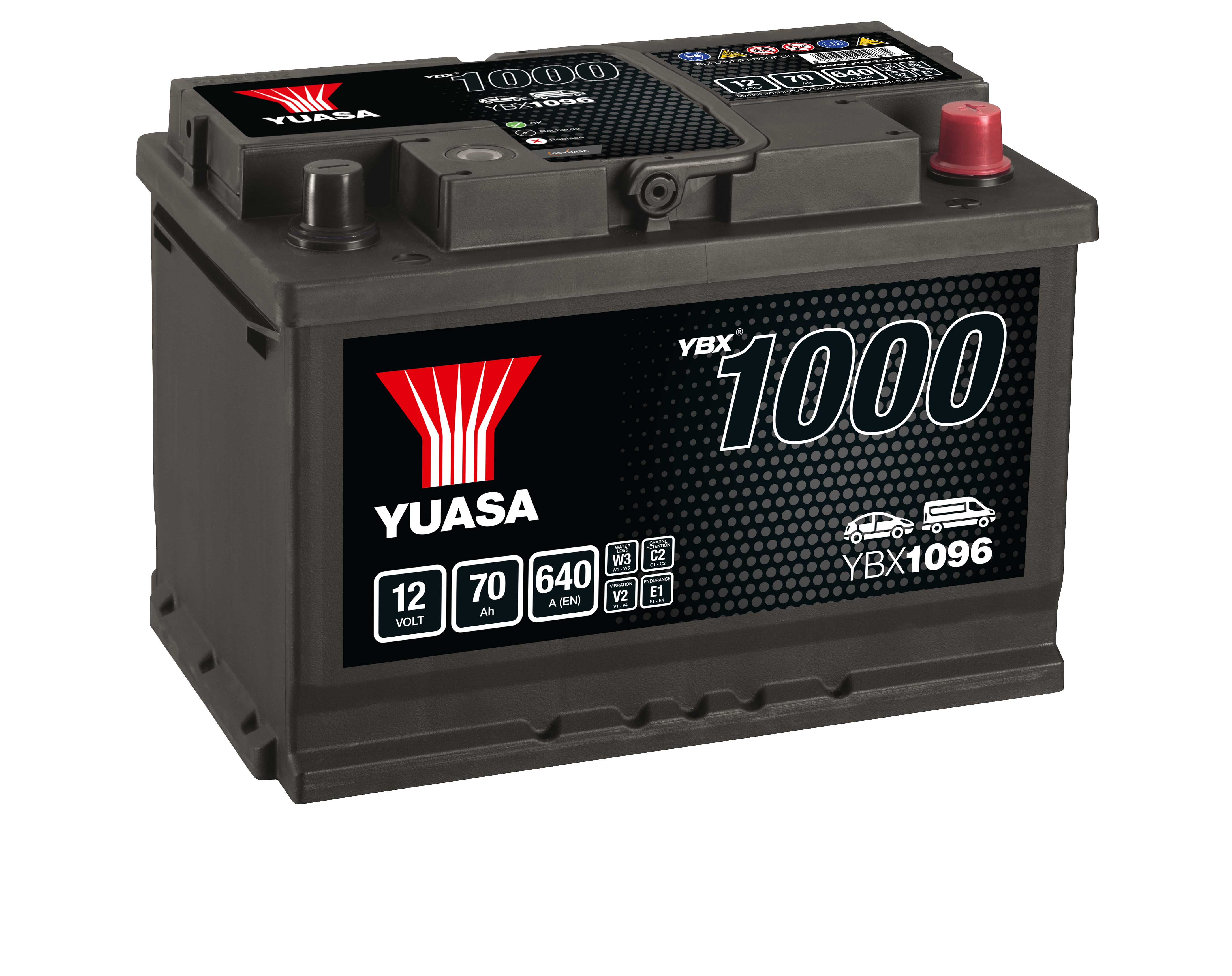YBX1000 Batterie CaCa