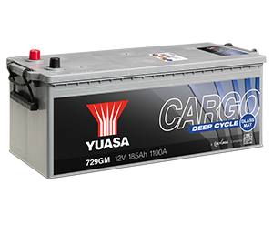 CARGO Batterie Deep Cycle (GM) con separatori Glass Mat (fibra  di vetro)