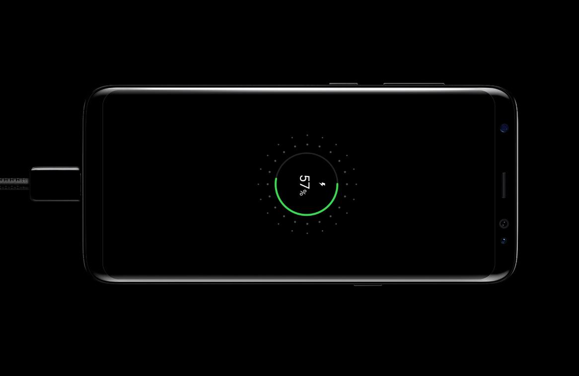 Quick Charge your Samsung Galaxy S8