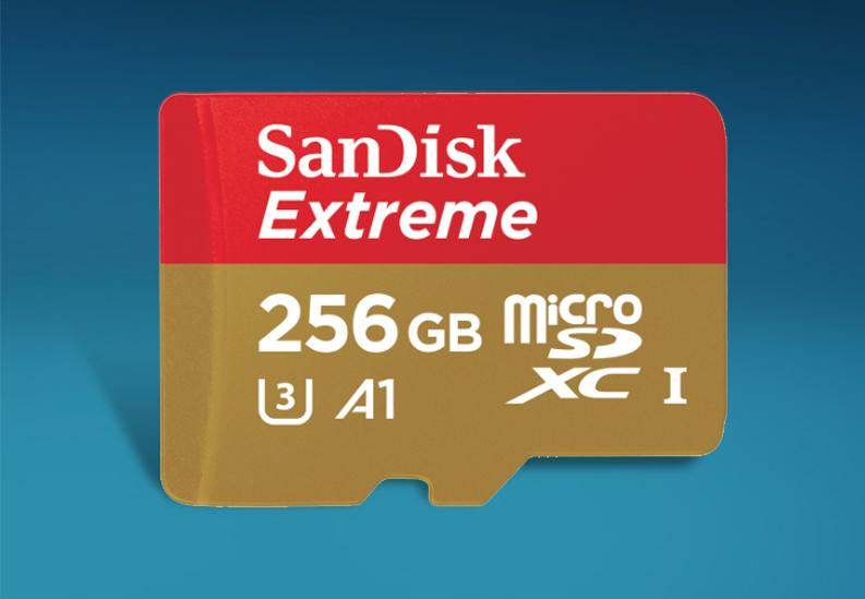 SanDisk EXTREME micro SDXC & micro SDHC UHS-I CARDS