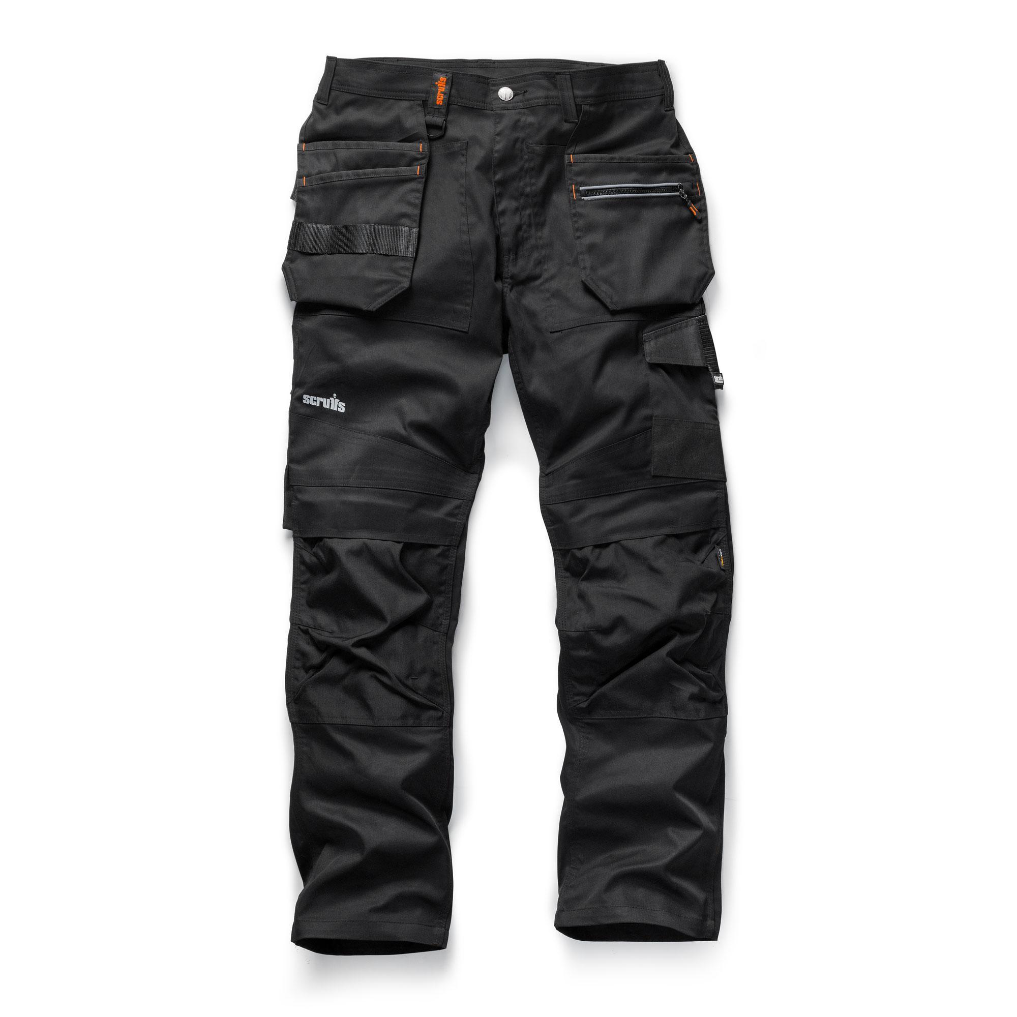 4eb60cd7 Zoom Scruffs Trade Flex Trousers Black. Close
