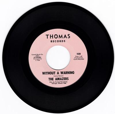 Without A Warning/ It's You For Me