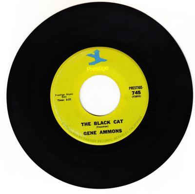 The Black Cat/ Something