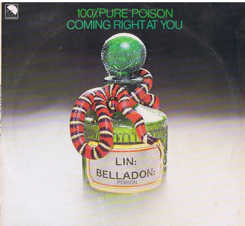 100% Pure Poison - Coming Right At You - UK Emi