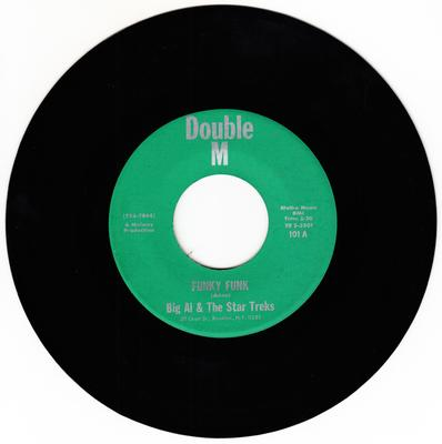 Big Al & The Star Treks - Funky Funk / Warm And Tender Love - Double M 101