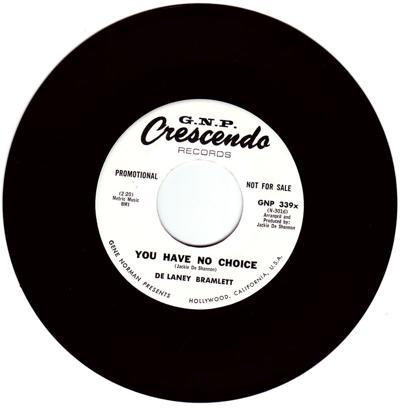 You Have No Choice/ Liverpool Lou