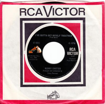 Kenny Carter - I've Got To Get Myself Together / Showdown - RCA 47-8841