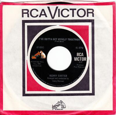 Kenny Carter - I've Got To Get Myself Together / Showdown - RCA 47-8841