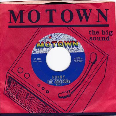 Contours - Funny / The Stretch - Motown 1012