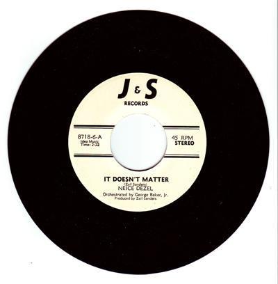 It Doesn't Matter/ Last Night