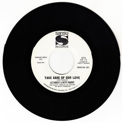 Take Care Of Our Love/ Love Lots Odf Lovin'