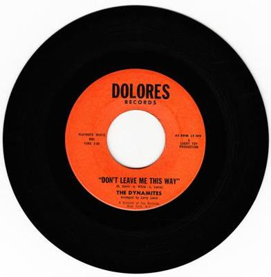 Image for Don't Leave Me This Way/ Weddings Bells Are Ringin'