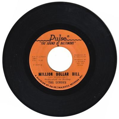 Million Dollar Bill/ My Baby's Got Soul