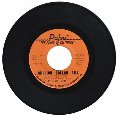 Image for Million Dollar Bill/ My Baby's Got Soul