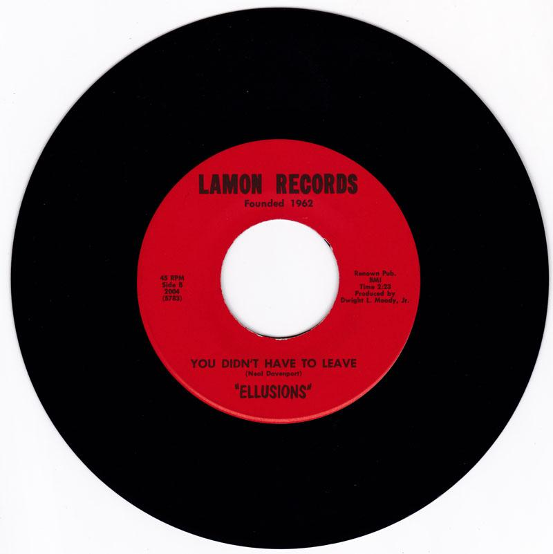 Ellusions - You Didn't Have To Leave / You Wouldn't Understand - Lamon 2004