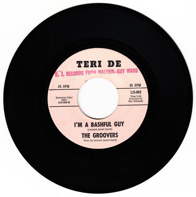 Groovers - I'm A Bashful Guy / Just Go For Me - Teri De LJS 002