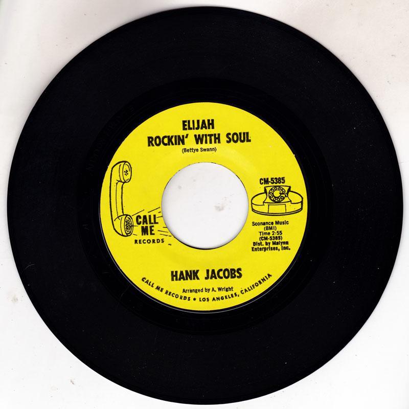 Elijah Rockin' With Soul/ East Side