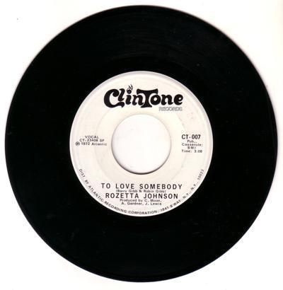 To Love Somebody/ Same: 3:08 Mono Version