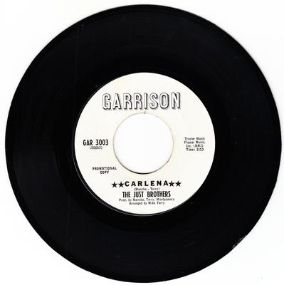 Just Brothers - Carlena / She Broke His Heart - Garrison GAR 3003 DJ