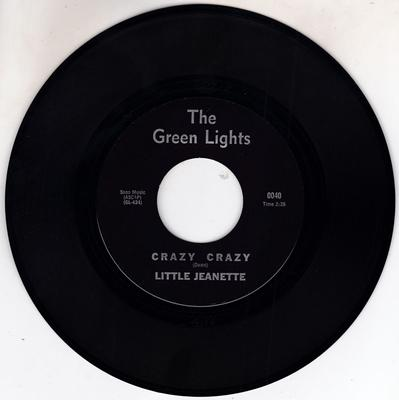 Little Jeanette - Crazy Crazy / Pleae Come Back Again - The Green Lights 0040