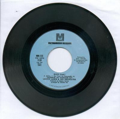 Image for Dizzy Instrumental/ Ob La Di, Ob La Da