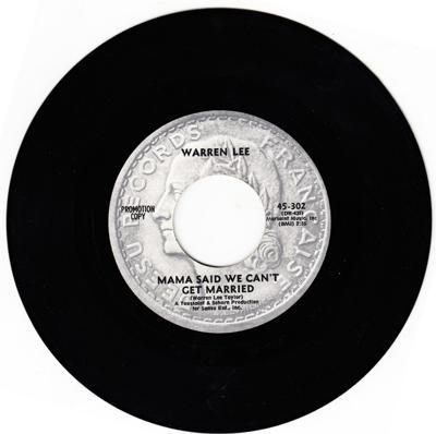 Image for Mama Said We Can't Get Married/ A Lady