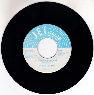 Barbara Lynn - Movin' On a Groove / Disco Music - Jetstream JS 829