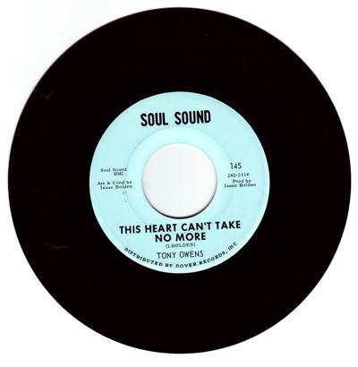 This Heart Can't Take No More/ I Got Soul