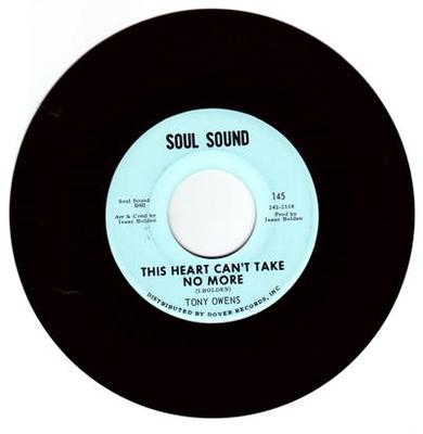 Image for This Heart Can't Take No More/ I Got Soul