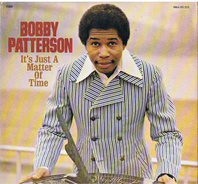 Bobby Patterson - It's Just a Matter Of Time / 1974 British release - Contempo / Paula CLP 504