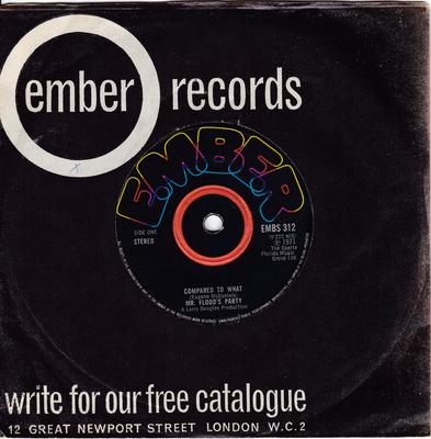Mr. Flood's Party - Compared To What / Unbreakable Toy - Ember EMBS 312