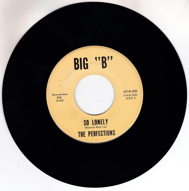 Perfections - So Lonely / Baby Don't You Go - Big