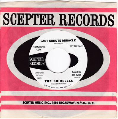 Shirelles - Last Minute Miracle / No Doubt About It - Scepter SCE 12198 DJ