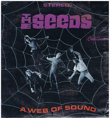 Seeds - A Web Of Sound / 1966 Stereo press - GNP Crescendo GNPS 2033