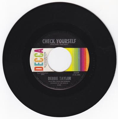 Image for Check Yourself/ Wait Until I'm Gone