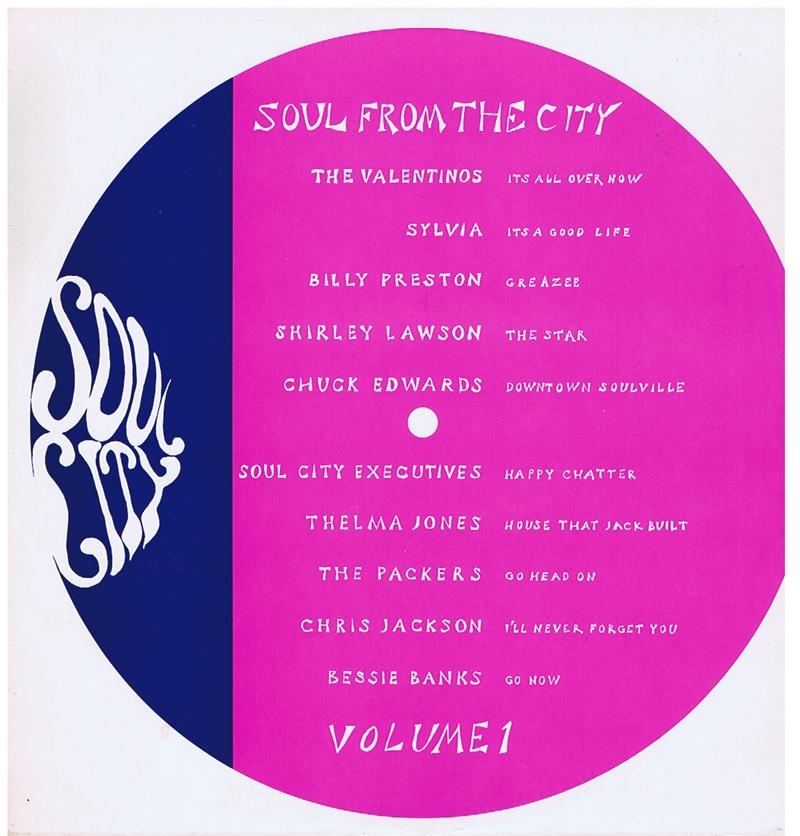 Various Artists - Soul From The City / 10 tracks - Soul City SCB 1