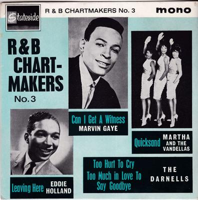 Various Artists - R&B Chart-Makers / 1964 UK 4 track EP - Statside SE 1022