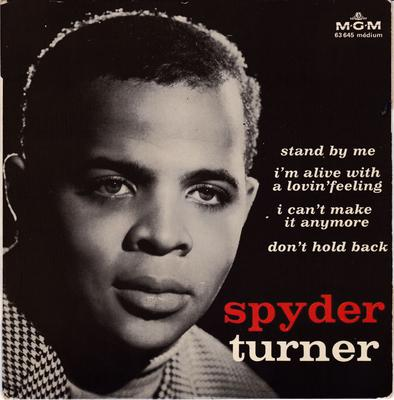 Spyder Turner - I'm Alive With A Loving Feeling + 3 / 4 Track French EP with  cover - MGM 63 645 EP PS