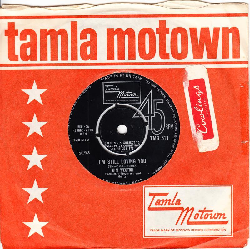Kim Weston - I'm Still Loving You / Just Loving You - Tamla Motown TMG 511